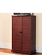 Deluxe Freestanding Media Storage Unit