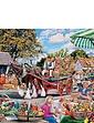 4 x 500 Piece Village Celebration Jigsaw Puzzles