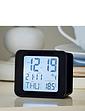 RC Alarm Clock With Day, Date & Temperature