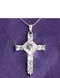 Lords Prayer Cross Pendant