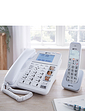 Big Button Corded And Cordless Phone With Answer Machine