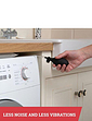 Steady Spin Anti Vibration Washer Dryer Pad