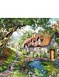 Flower Hill Lane 1000 Pc Jigsaw