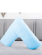 M R S A Resistant Wipe Clean V Shaped Support Pillow