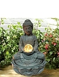 Solar Buddha Water Feature