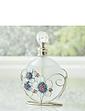 Sophia Glass & Wire Purple Butterfly Perfume Bottle