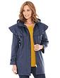 Ladies Three Quater Length Waterproof Cape Coat