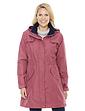 Fleece Lined Waterproof Fabric Jacket 36 Inch