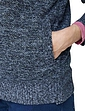 Knitted Fleece Lined Zip Cardigan