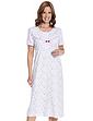 Cotton Jersey Floral Print Nightdress