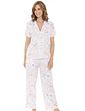 Floral Print Satin Pyjamas