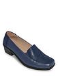 Patchwork Block Heel Shoe