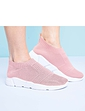 Ladies Knit Fabric Leisure Shoe