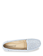 Comfort Plus Wide Fit Diamante Trim Mock Suede Loafer