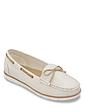 Dr Keller Wide Fit Stripe Loafer Shoe Pipa