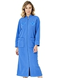 Knitted Zip Embroidered Dressing Gown