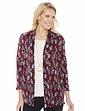 Floral Plisse Soft Jacket