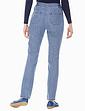 Flat Front Side Elastic Jean