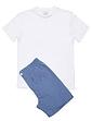 Rael Brook Loungewear T Shirt and Check Short Set