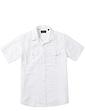 Mens Linen Blend Shirt With Chest Pockets
