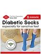 HJ Hall Pack of 2 Cotton Diabetic Socks