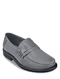 Leather Slip on Moccasin Shoe