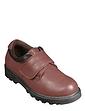 Leather Touch Fasten Walking Shoe