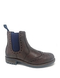 Leather Brogue Chelsea Boot