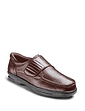 Dr Keller Texas Wide Fit Leather Shoe