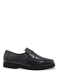 Mens Leather Wide Fit Moccasin Shoes
