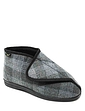 Dr Keller Wide Fit Touch Fastening Boot Slipper