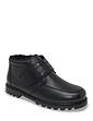 Leather Thermal Lined Touch Fasten Boot Standard Fit