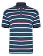 Peter Gribby Stripe Pique Polo Shirt