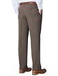 Mens High Waist Warm Lined Smart Trouser