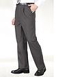 High Waist Formal Trouser With Stretch Waistband