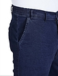 High Waist Stretch Denim Trousers