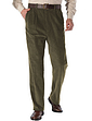 High Waist Corduroy Trouser
