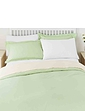 Superfine 200 Count Percale Poly Cotton Fitted Valance Sheet
