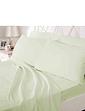 Belledorm 200 Count Plain Dyed Cotton Standard Flat Sheet