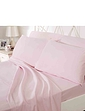 200 Count Plain Dyed Cotton Standard Fitted Sheet by Belledorm