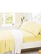 Supersoft Plain Dyed Flannelette Bedlinen by Belledorm