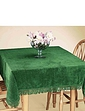 Pure Cotton Chenille Table Cover by Diana Cowpe