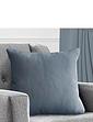 Plain Satin Blackout Cushion Covers