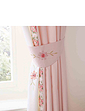 Eva Puffball Lined Curtains with Free Tiebacks