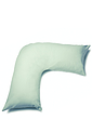 Superfine 200 Count Percale Poly Cotton V Pillowcase