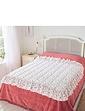 Rosebud Eiderdown Style Quilt