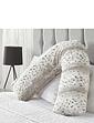 Downland Snow Leopard V Pillow