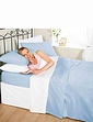 Plain Dyed Napguard Flannelette Sheets and Pillowcases