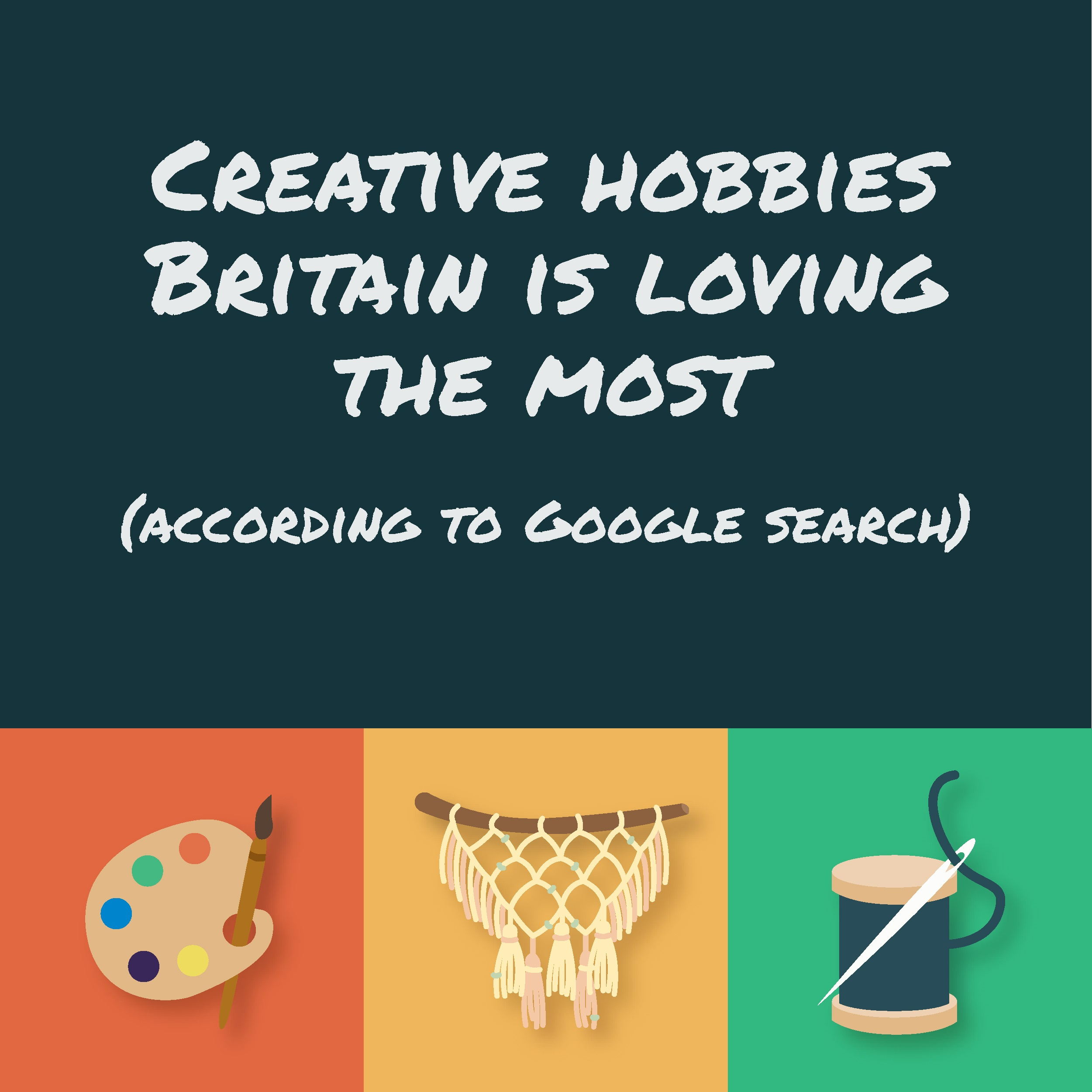 Creative hobbies Britain is loving the most