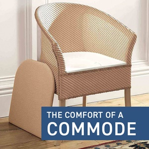 How to use a commode properly